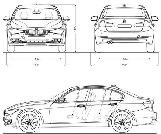 ความกว้างของ BMW 420 กับ 320 มันกว้างเท่ากันไหมครับ