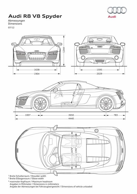 AUSmotive.com » 2013 Audi R8 facelift revealed