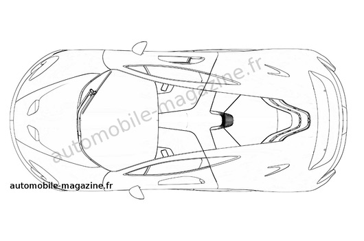 AUSmotive.com » McLaren P1 patent drawings reveal new details