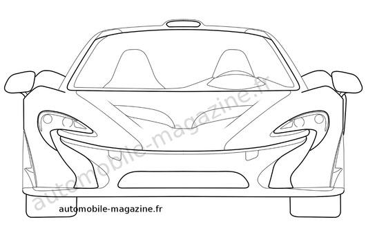 AUSmotive.com » McLaren P1 patent drawings reveal new details