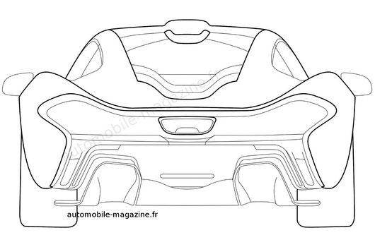 Free coloring pages of mclaren p1