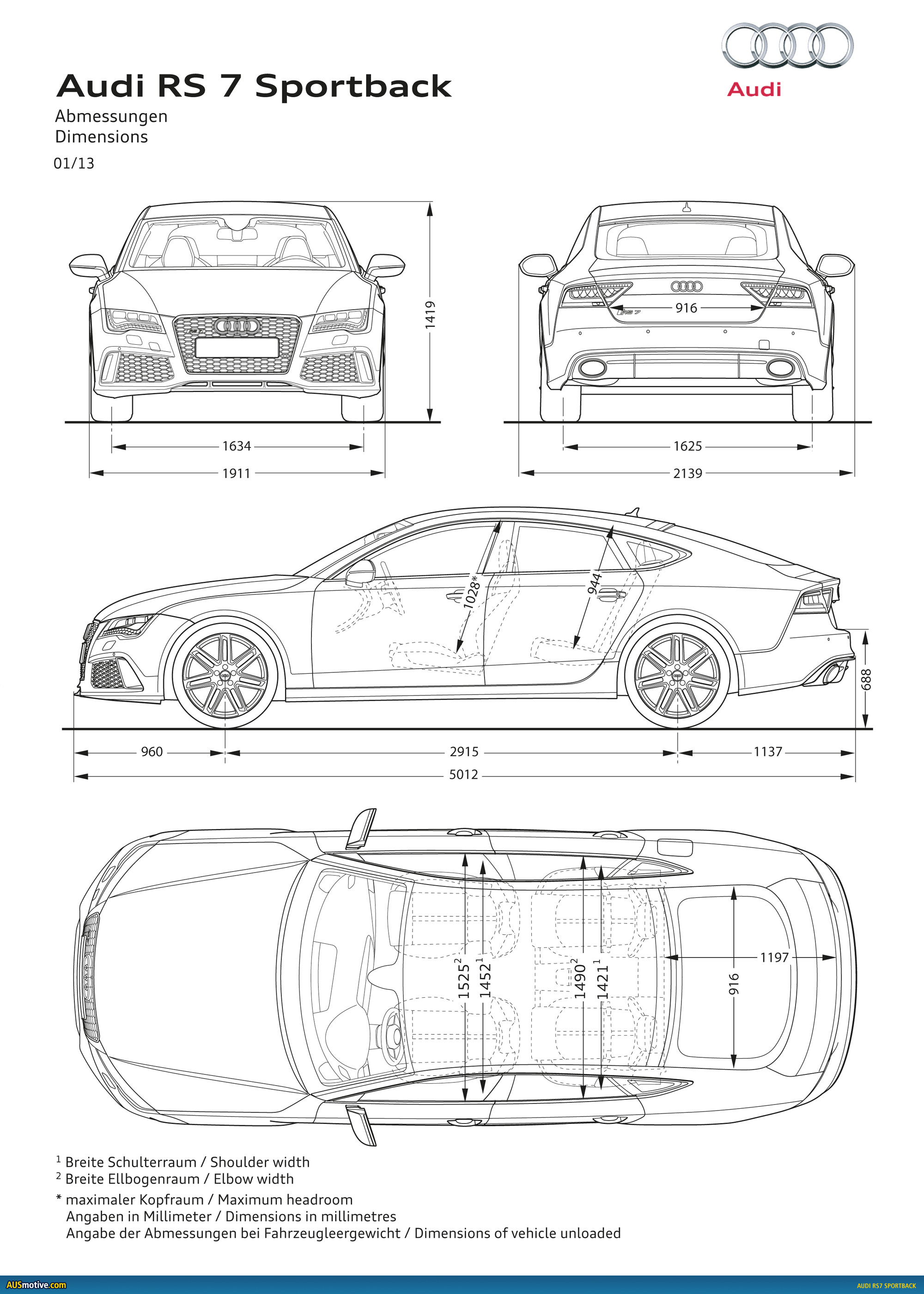 AUSmotive.com » Detroit 2013: Audi RS7 Sportback