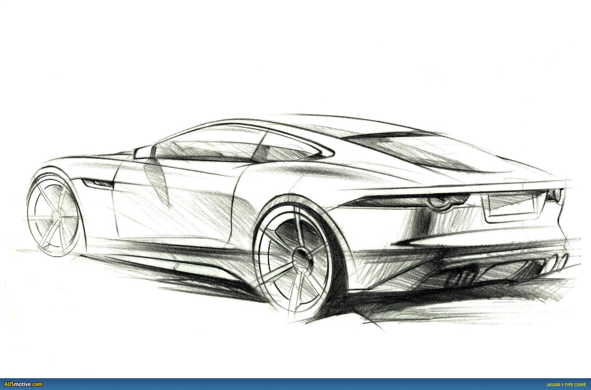Ausmotive La Jaguar F Type Coupe Revealed