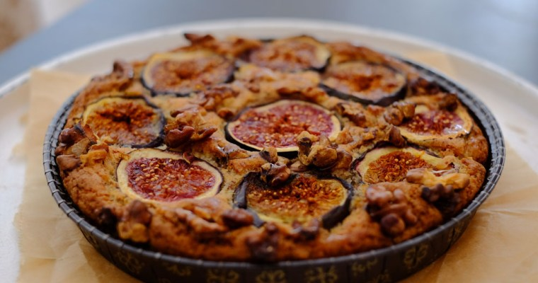 sugarfree Fig-Almondcake