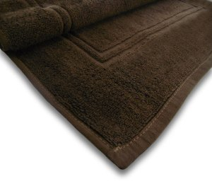 Chocolate Colored Bath Mat