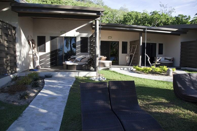 Beach Villa im Mantaray Island Resort