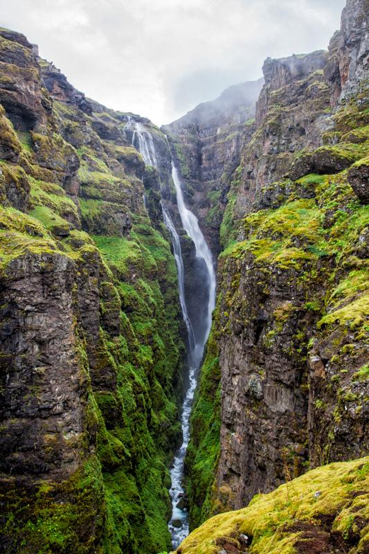 Glymur Wasserfall