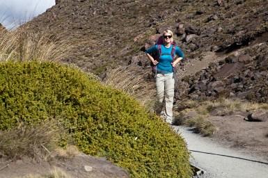 Katharina am Tongariro Crossing
