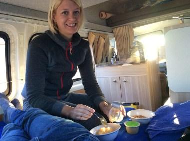 Camperfrühstück