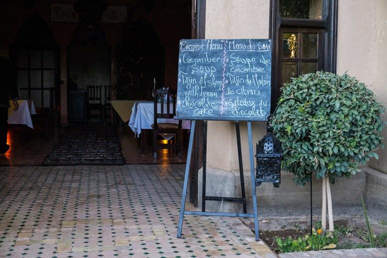 Restaurant im Ksar el Kabbaba