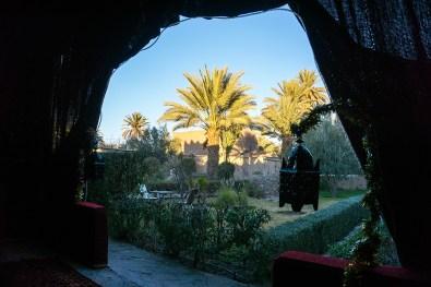Begrüßung im Ksar el Kabbaba