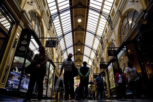Mall in Melbourne