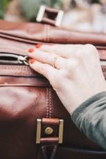 Weekender Tasche Reißverschluss
