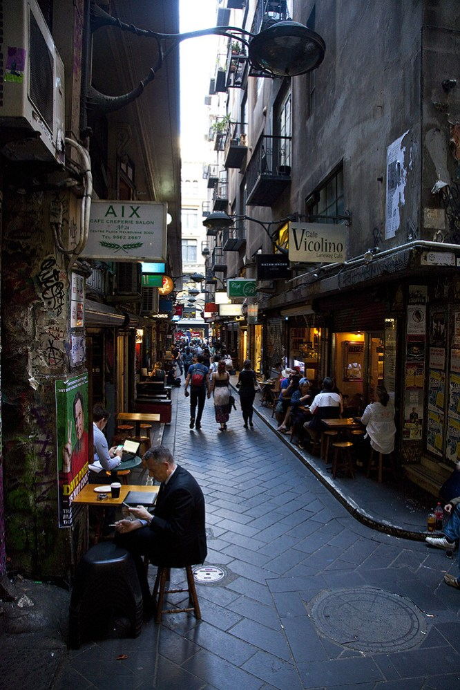 Laneway in Melbourne