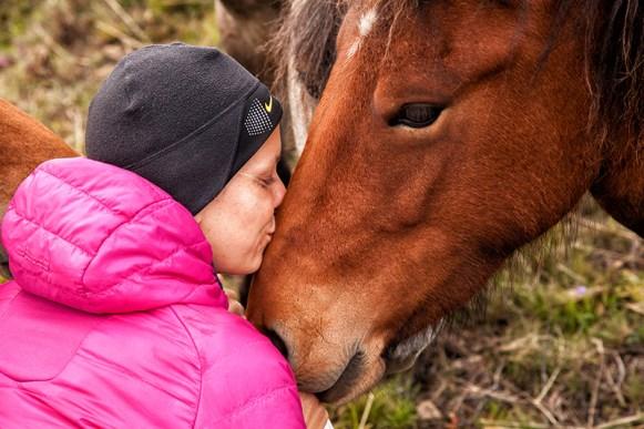 Isländer mit Katharina