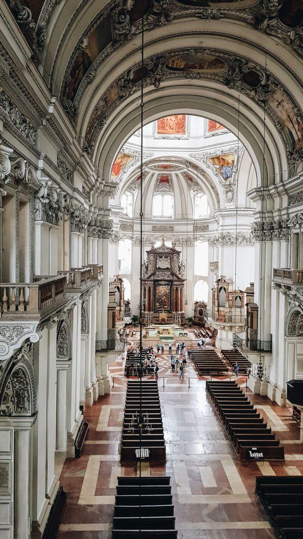 Salzburg Dom innen