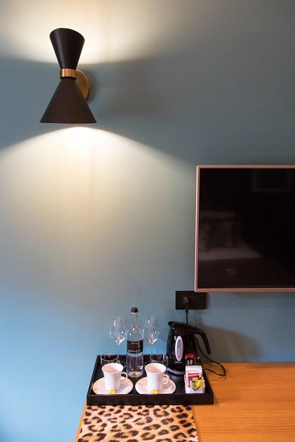Detail in der Suite Fossey