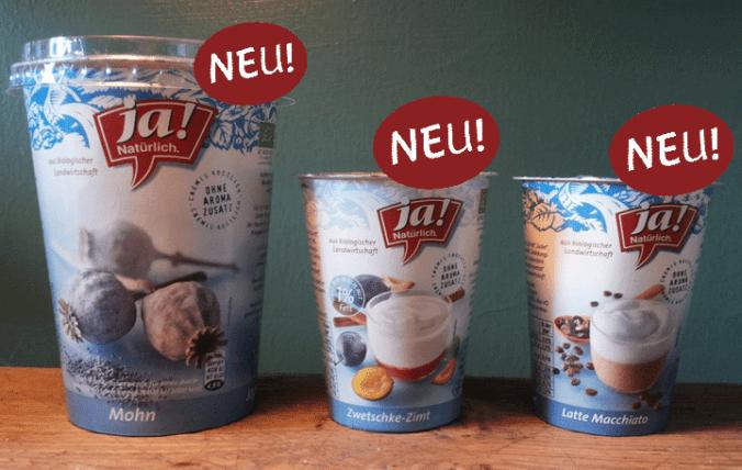 Joghurts Ja Natürlich
