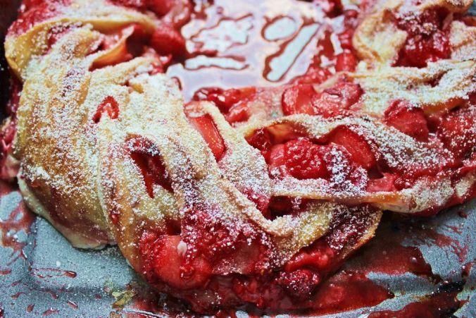 Swirl-Bread mit Beeren