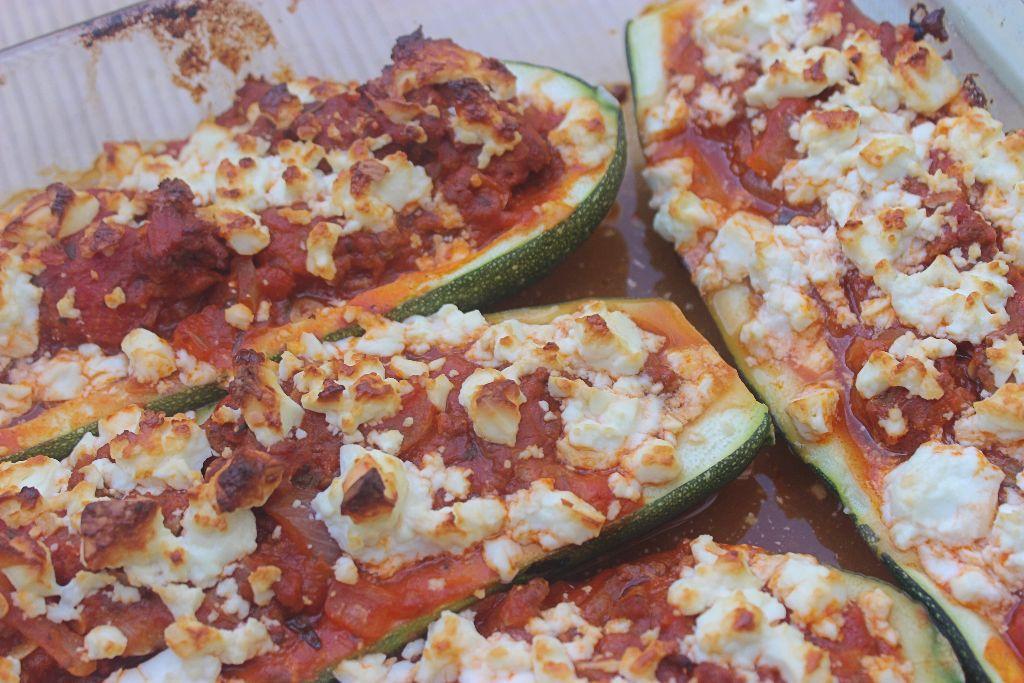 Ein Rezept für einen Regentag im Sommer – gefüllte Zucchini