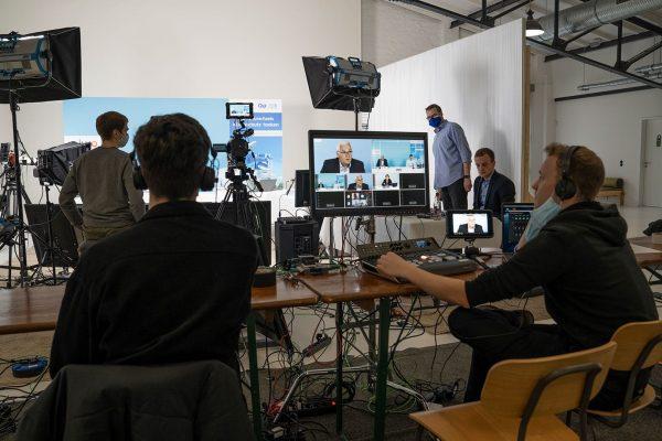 Online Pressekonferenz Microsoft Teams