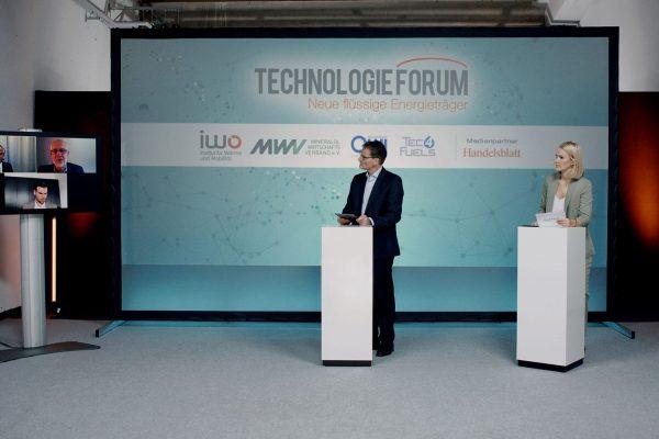 Virtuelle Konferenz Produktion Hamburg