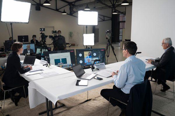 Virtuelle Pressekonferenz Anbieter Hamburg
