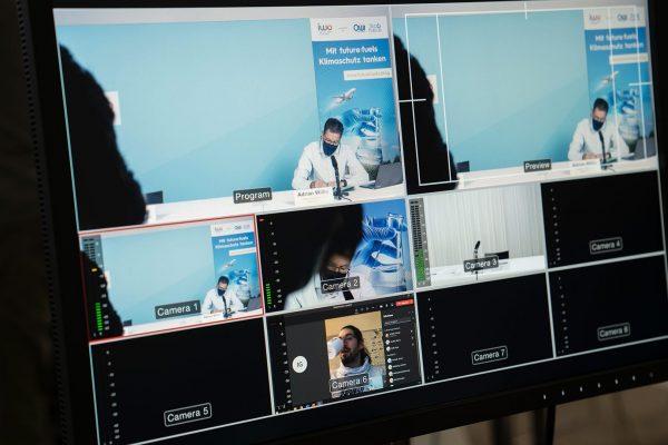 Virtuelle Pressekonferenz Livestream Hamburg