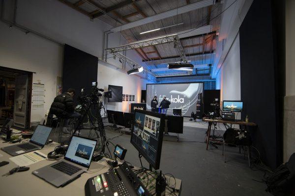 Online Konferenz Studio Hamburg