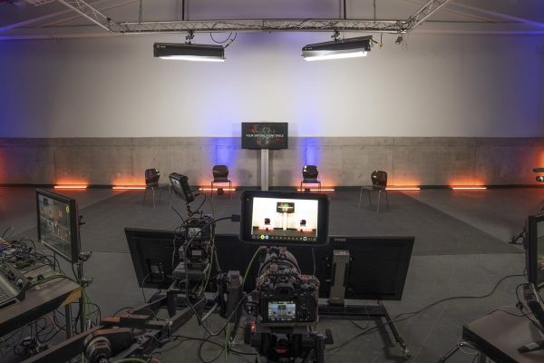Digitale Prodiumsdiskussion Studio Hamburg