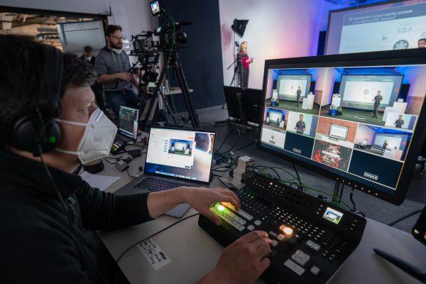 Hybrid Event Studio Hamburg