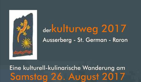 Kulturweg Ausserberg Raron 2017