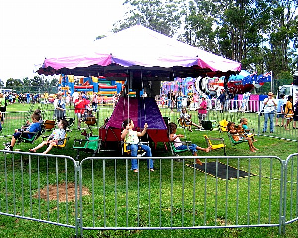 Amusement rides by Aussie Amusements include Dodgem Cars