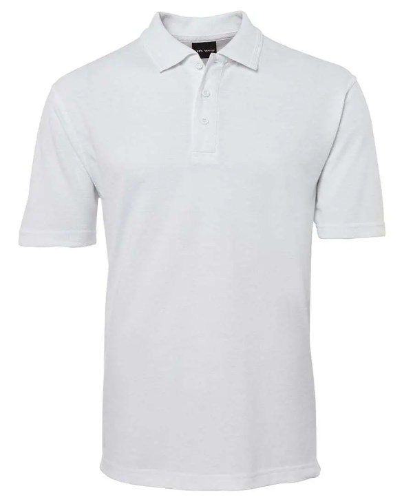 Polo Shirts -White