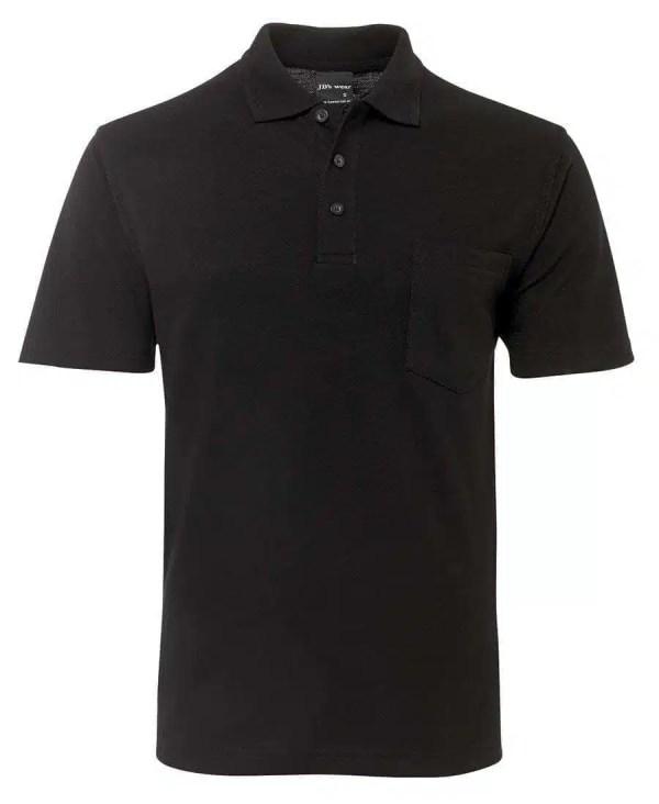 Pocket Polo - Black