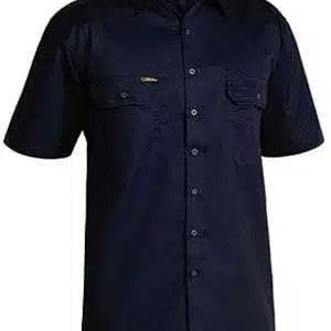 Light Weight Drill Shirt Navy