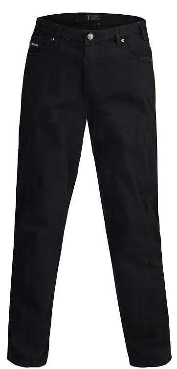 Pilbara Jeans Cotton Stretch Classic Fit Black