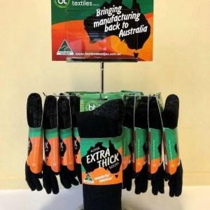 Aussie Made Bamboo Socks - Black