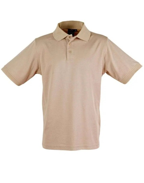 Cool Dry Polo - Beige