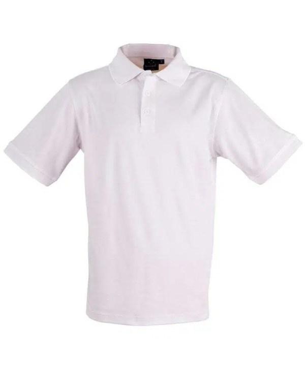 Cool Dry Polo - White