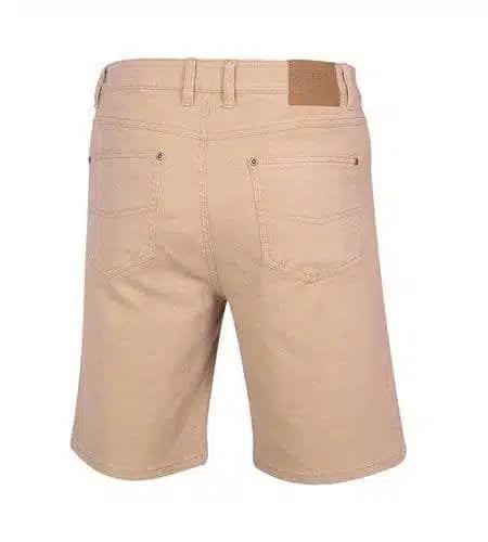Pilbara Cotton Jean Shorts - Back