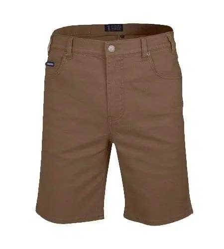 Pilbara Cotton Jean Shorts - Whisky
