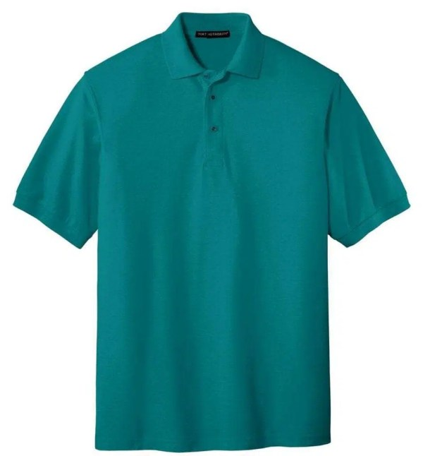 Tall Silk Touch Polo - TEAL GREEN