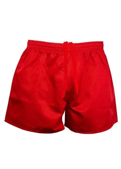 Footy Shorts Red