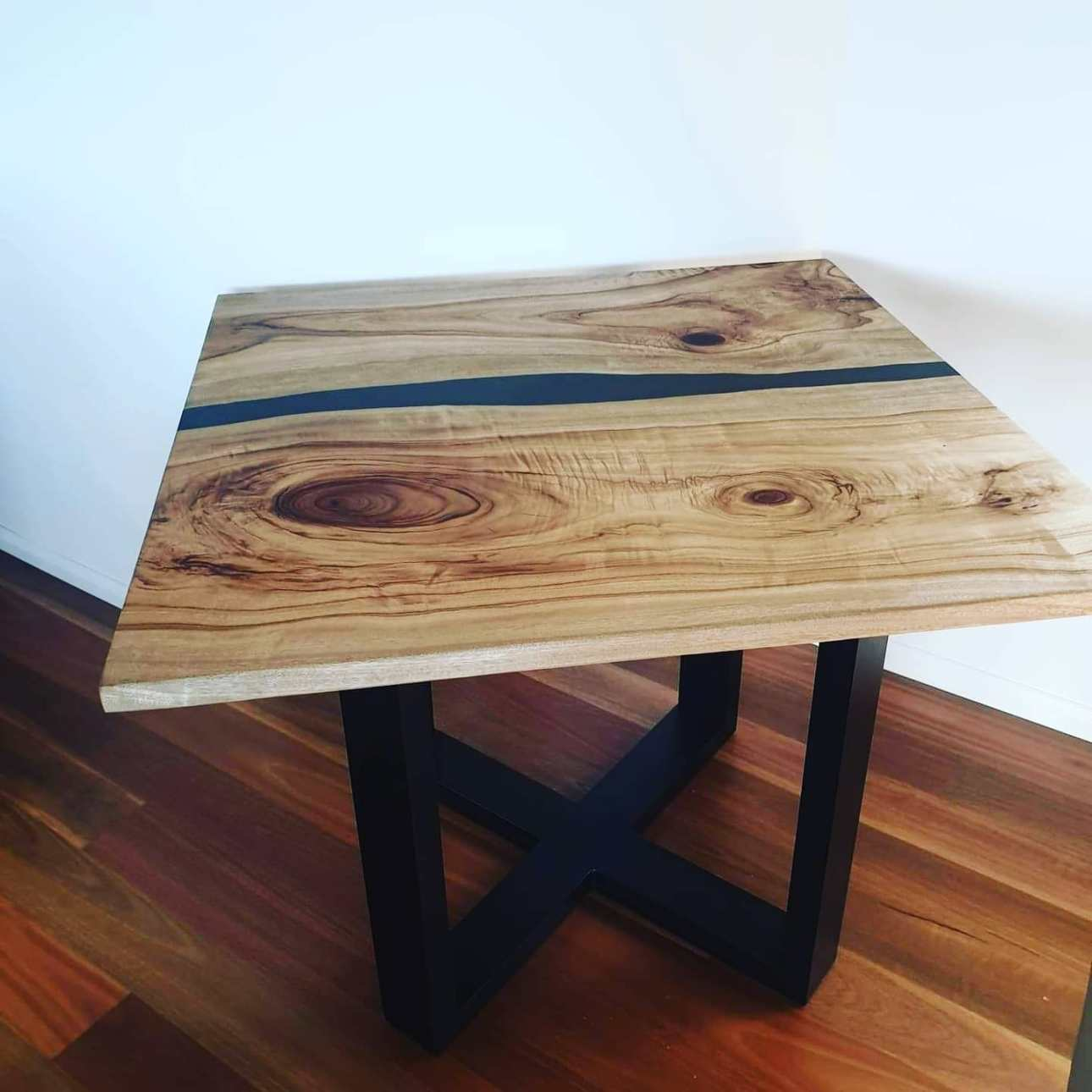 Aussie Camphor; Epoxy; Resin; Coffee Table; Mica Pigment; table top; river table