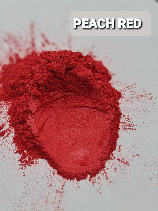 PEACH RED- Aussie Camphor - Mica Pigment Powder