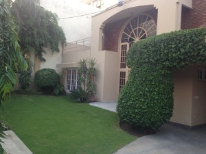 One of the villas in Model Town