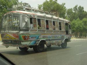 Karachi's famous buses