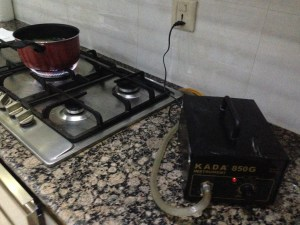 Hot plates with 'booster'