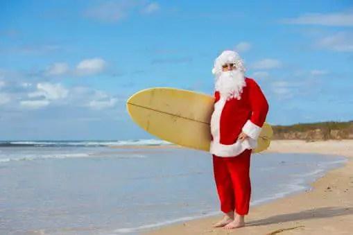 Santa Claus - Christmas in Australia